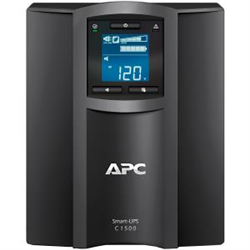 APC SMART UPS (SMC)- 1500VA WITH SMARTCONNECT- LCD- TOWER - 2YR WTY
