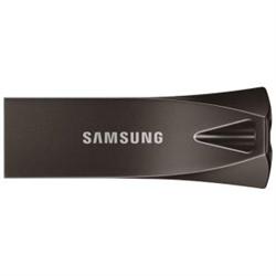SAMSUNG (BAR PLUS) 64GB USB DRIVE- 200R/30W MB/S- USB 3.1- GRAY METALLIC- 5YR WTY