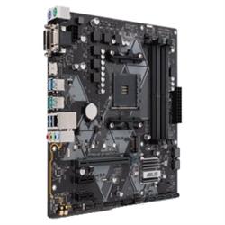 PRIME-B450M-A AM4 M-ATX MOTHERBOARD - AMD B450 CHIPSET - 4X DIMM DDR4 UP TO 64 GB - 4 X SATA 6GB/S - RAID 0 1 10 - REALTEK RTL8111H 1 X GIGABIT LAN - REALTEK ALC887 - BACK I/O: 2 X USB 3.1 GEN 2 4 X U