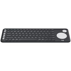 LOGITECH K600 TV KEYBOARD WITH INTEGRATED TOUCH PAD AND D-PAD UNIFYING RECEIVER -1YR WTY