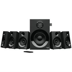 LOGITECH Z607 5.1 SURROUND SOUND SPEAKERS WITH BLUETOOTH-RMS(160W)-3.5MM(1)-RCA(3)-1YR