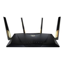 ASUS AX6000 WIRELESS MU-MIMO DUAL BAND ROUTER-GBE(8)-USB 3.1(2)-ANT(4)-3YR WTY