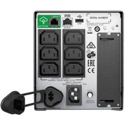 APC SMART UPS(SMT) 750VA- IEC(6)- USB- SERIAL- SMART SLOT- LCD-TWR- SMART CONNECT-3Y WTY