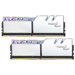 TZ ROYAL 16G KIT (2X 8G) DDR4 3600MHZ PC4-28800 18-22-22-24 1.35V DIMM SILVER COLOUR