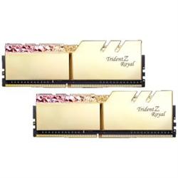 TZ ROYAL 16G KIT (2X 8G) DDR4 4266MHZ PC4-34100 19-19-19-39 1.4V DIMM GOLD COLOUR