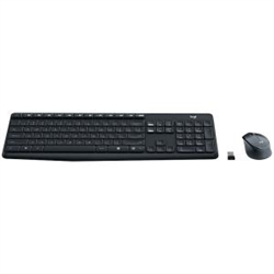 LOGITECH MK315 WIRELESS KEYBOARD AND MOUSE COMBO- 2.4GHZ NANO RECEIVER - 1YR WTY