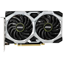 NVIDIA GEFORCE GTX 1660 TI VENTUS XS 6G OC GRAPHIC CARD TORX FAN 2.0 CORE CLOCKS 1830MHZ 3X DP 1X HDMI 2.0 450W MIN PSU G-SYNC READY VR READY UP TO 4 MONITORS 3 YEARS WARRANTY