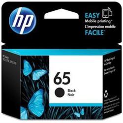 HP 65 BLACK  INK CARTRIDGE