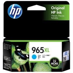 HP 965XL CYAN INK CARTRIDGE HIGH YIELD 1.6K PAGES