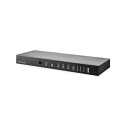4X4 HDMI MATRIX SWITCH WITH AUDIO AND ETHERNET CONTROL - 4K 60HZ - HDMI SWITCHER BOX - RACK MOUNTABLE - WITH RS232 CONTROL