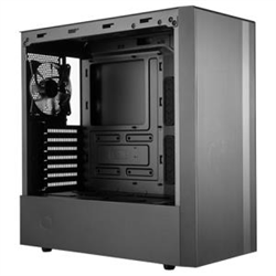 COOLER MASTER MASTERBOX NR600- ATX WITH TEMPERED GLASS SIDE PANEL- MINIMALISTIC MESH DESIG