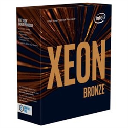 INTEL XEON BRONZE- 3204- 6 CORE- 6 THREADS- 8.25M- 1.9GHZ- 3647- 3YR WTY