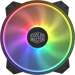 COOLERMASTER MASTERFAN 200MM ADDRESSABLE RGB FAN- SUPPORT CM PLUS SOFTWARE CONTROL