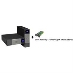 5PX 3000VA2700W 3U RCKTWR UPS + WARRANTY+ STANDARD UPLIFT 4 YEAR: 5 SERI + GIGABIT NETWORK CARD