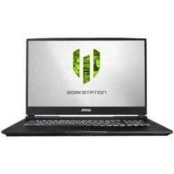 WE75 WORKSTATION COFFELAKE I7 9750H 16G2X8G 512G SSD 1TB HDD QUADRO RTX3000 6G 17.3 IPS LEVEL THIN BEZEL WHITE BACKLIGHT KEYBOARD WIFI BT WIN 10 3 YEARS WARRANTY