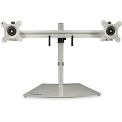 DUAL-MONITOR STAND - HORIZONTAL - FOR UP TO 24