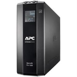 APC (BR1600MI) BACK-UPS PRO (BR)- 1600VA- IEC(8)- AVR- LCD MONITORING- 2YR WTY