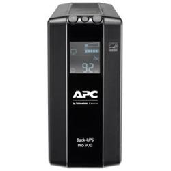 APC (BR900MI) BACK-UPS PRO (BR)- 900VA- IEC(6)- AVR- LCD MONITORING- 2YR WTY