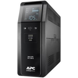 APC (BR1200SI) BACK-UPS PRO (BR)1200VA- SINEWAVE-8 OUTLETS- AVR- LCD- INTERFACE