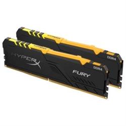 32GB 2666MHZ DDR4 CL16 DIMM (KIT OF 2) HYPERX FURY RGB