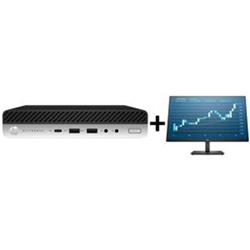 ED 800 G5 DM I7-9700T 8GB 256GB SSD WL + PRODISPLAY P244 23.8IN (16:9) MONITOR