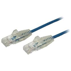 STARTECH.COM 2M CAT6 CABLE- RJ45 PATCH CORD- SNAGLESS- SLIM- LSZH- BLUE- LTW