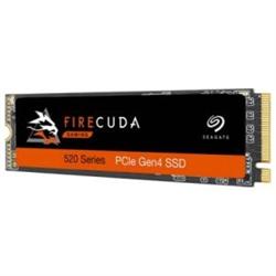 SEAGATE FIRECUDA 520 SSD- M.2- NVME 1TB- 5000R/4000W-MB/S- 3D TLC NAND- 5YR WTY
