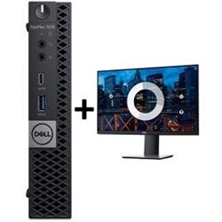 OPTIPLEX 7070 MICRO I7-9700T 8GB(1X8GB 2666-DDR4) 256GB(M.2-SSD) + MONITOR 23.8IN P2419H FOR ADDITIONAL $99EX - PROMO BUNDLE