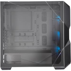COOLER MASTER MASTERBOX TD500 CRYSTAL A.RGB- CRYSTAL CLEAR FRONT PANEL- CRYSTALLINE TEMPER