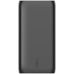 BELKIN MULTI-PORT POWER BANK- 20K MAH- USB-C (1)- USB-A (2)- BLACK- INCLUDE C-A CABLE- 2 Y