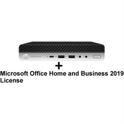 PD 600 G5 DM I7-9700T 8GB 256GB WL + MS OFFICE HOME & BUSINESS 2019 RETAIL BOX