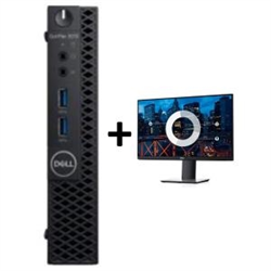 OPTIPLEX 3070 MICRO I5-9500T 8GB(1X8GB 2666-DDR4) 256GB(M.2-SSD) + MONITOR 23.8IN P2419HE FOR ADDITIONAL $99EX - PROMO BUNDLED)