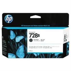 HP 728B 130ML MATTE BLACK INK CARTRIDGE