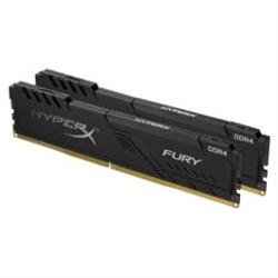 32GB 2666MHZ DDR4 CL16 DIMM KIT OF 2 HYPERX FURY BLACK