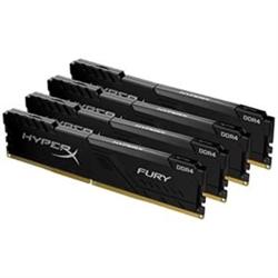 128GB 3466MHZ DDR4 CL17 DIMM KIT OF 4 HYPERX FURY BLACK