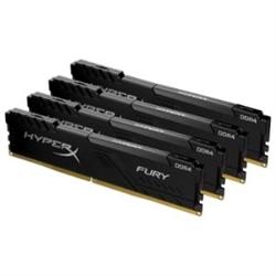 64GB 3466MHZ DDR4 CL17 DIMM KIT OF 4 HYPERX FURY BLACK