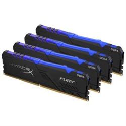 128GB 3466MHZ DDR4 CL17 DIMM (KIT OF 4) HYPERX FURY RGB