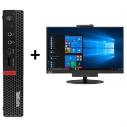 THINKCENTRE M720 TINY I7-9700T 16GB RAM 512GB SSD WIFI+BT WIN10 PRO 3YROS + LENOVO TIO24 TOUCH MONITOR(10QXPAR1AU)
