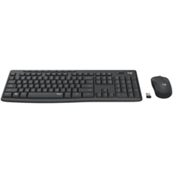 LOGITECH MK295 WIRELESS SILENT KEYBOARD AND MOUSE COMBO- 2.4GHZ USB RECEIVER - 1YR WTY