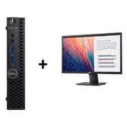 OPTIPLEX 3070 MICRO I5-9500T 8GB(1X8GB 2666-DDR4) 256GB(M.2-SSD) + MONITOR 23.8IN E2420H FOR ADDITIONAL $49EX - PROMO BUNDLE
