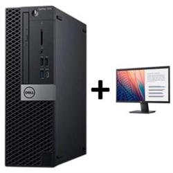 OPTIPLEX 7070 SFF I5-9500 8GB(1X8GB 2666-DDR4) 256GB(M.2-SSD) + MONITOR 23.8IN E2420H FOR ADDITIONAL $49EX - PROMO BUNDLE