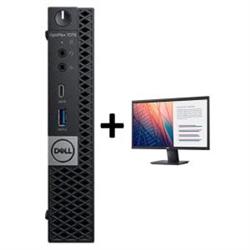 OPTIPLEX 7070 MICRO I7-9700T 8GB(1X8GB 2666-DDR4) 256GB(M.2-SSD) + MONITOR 23.8IN E2420H FOR ADDITIONAL $49EX - PROMO BUNDLE