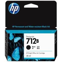 HP 712B 38ML BLACK INK CARTRIDGE