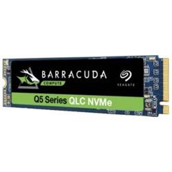 SEAGATE BARRACUDA Q5 SSD- M.2- NVME- 500GB- 2300R/900W-MB/S - 3D QLC NAND- 3YR WTY