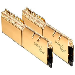 TRIDENT Z ROYAL GOLD 16G KIT 2X8G PC4-32000 DDR4 4000MHZ CL18-22-22-42 1.35V DIMM