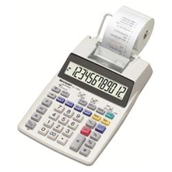 12 DIGIT TAX COST SELL MARGIN CORRECTION KEY 4 MEMORY DESKTOP PRINTING CALCULATOR - WHITE