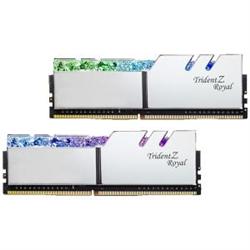 TRIDENT Z ROYAL SILVER 64G KIT 2X32G PC4-32000 DDR4 4000MHZ CL18-22-22-42 1.40V DIMM