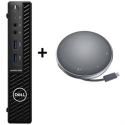 OPTIPLEX 3080 MFF I5-10500T 8GB[1X8GB 2666-DDR4] 256GB[M.2-SSD] + APOLLO MOBILE ADAPTER SPEAKERPHONE FOR ADDITIONAL $1EX - PROMO BUNDLE