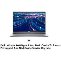 DELL LATITUDE 5520 I7-1165G7 8GB[1X8GB DDR4-NON ECC] 256GB[M.2-SSD] + UPGRADE TO 3YR PROSUPPORT NBD ONSITE SERVICE (L5XX-3813) FOR AN EXTRA $99EX