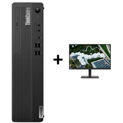 THINKCENTRE M70S-1 SFF I5-10400 8GB RAM 256GB SSD DVDRW WIN10 PRO 3YROS + LENOVO S24E20 MONITOR(62AEKAR2AU)